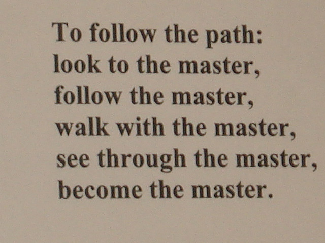 To Follow The Path....
