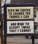 Give Me Coffee...