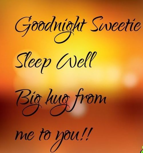 Good Night Sweetie