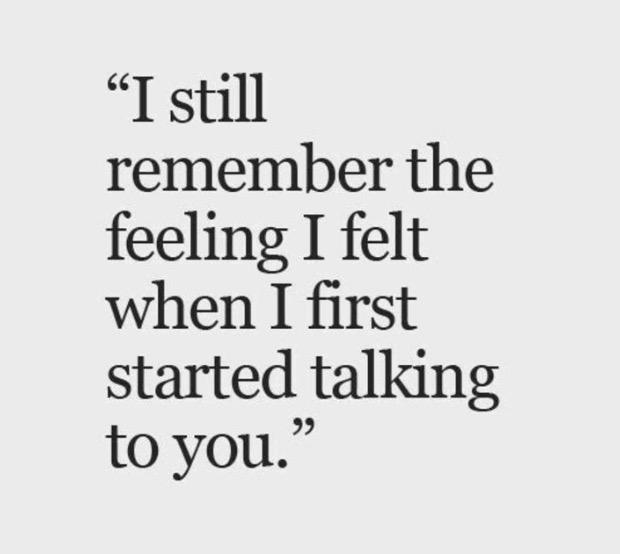 I Still Remember The Feeling