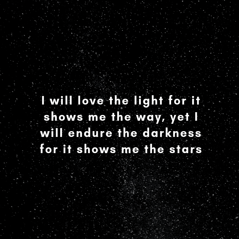 I will love the light for it shows