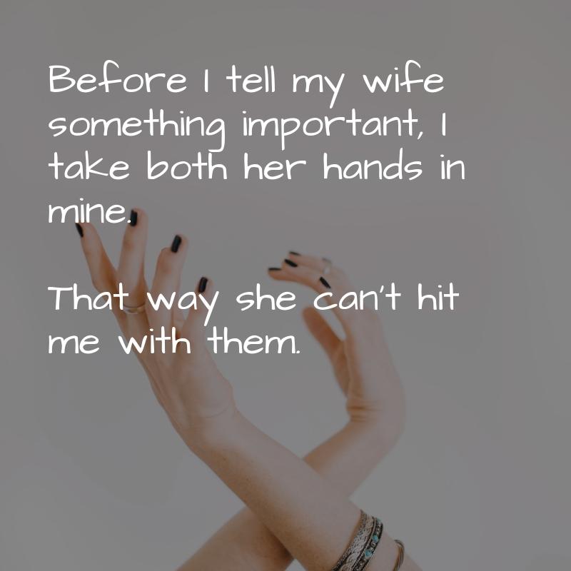 Before I Tell My Wife...