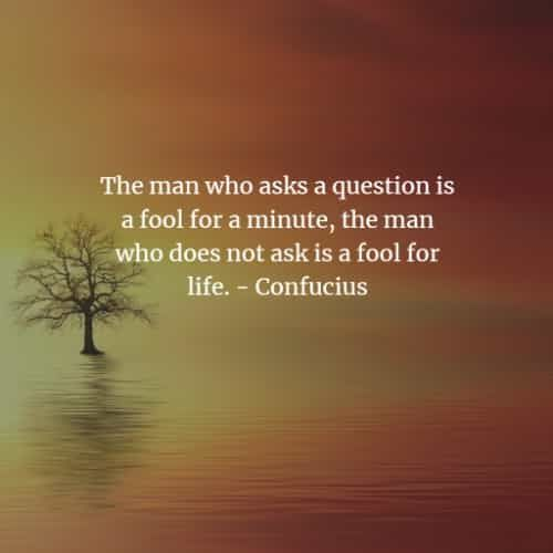 The Man Who Asks...