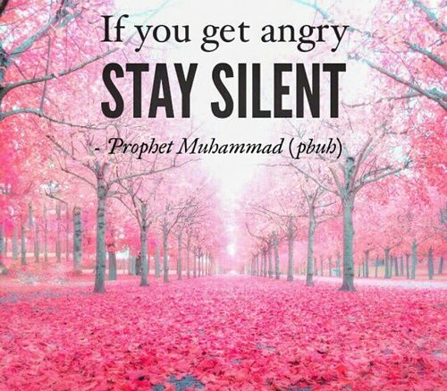 If You Get Angry...