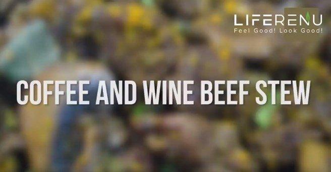 Keto Coffee and Wine Beef Stew