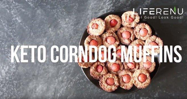 Keto Corndog Muffins