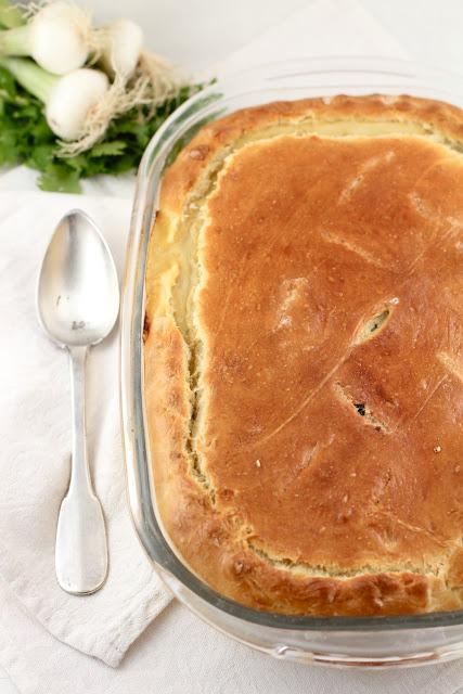 Chard Fennel Feta Pie I