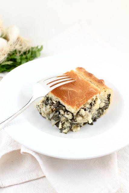 Chard Fennel Feta Pie II