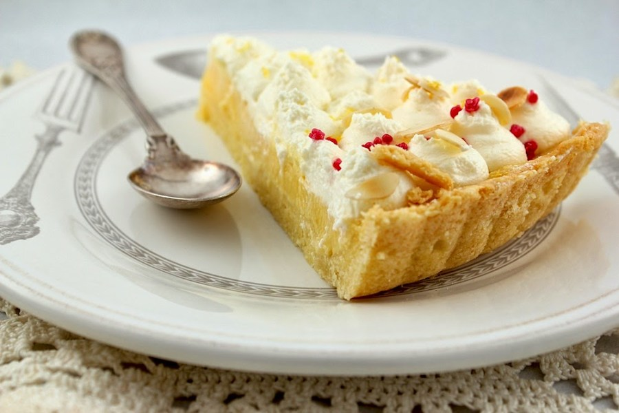 Lemon & Mascarpone Tart V