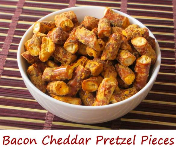 Bacon Cheddar Pretzel Pieces