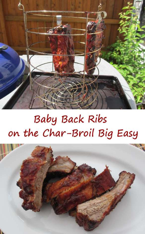 Baby Back Ribs on the Char-Broil Big Easy