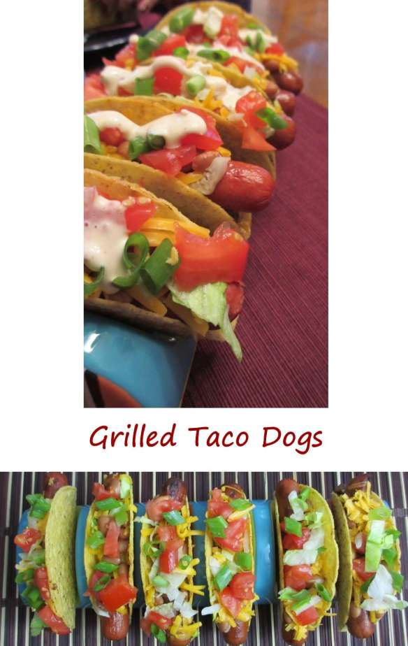 Grilled Taco Dogs