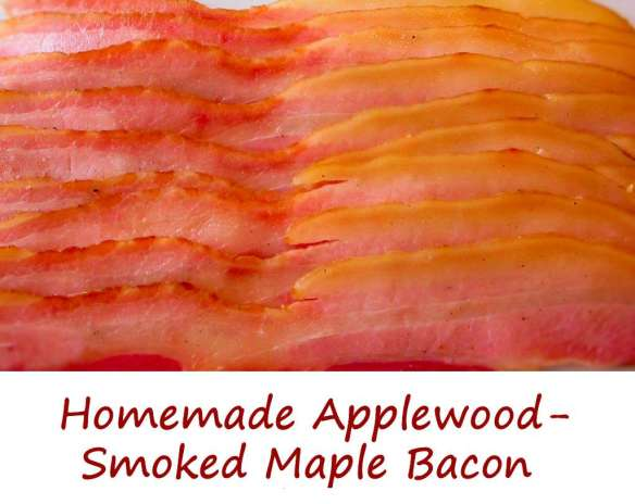 Homemade Applewood-Smoked Maple Bacon