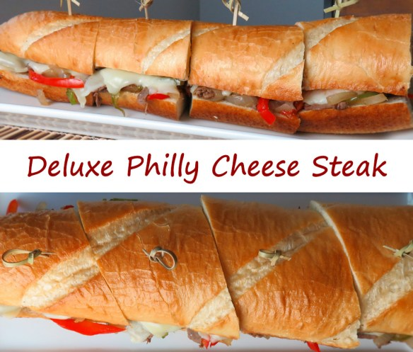 Deluxe Philly Cheese Steak