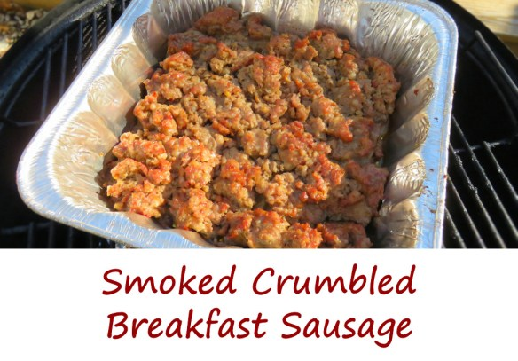 Smoked Crumbled Breakfast Sausage