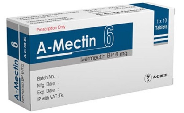 A-Mectin 6 mg Tablet (ACME Laboratories Ltd)