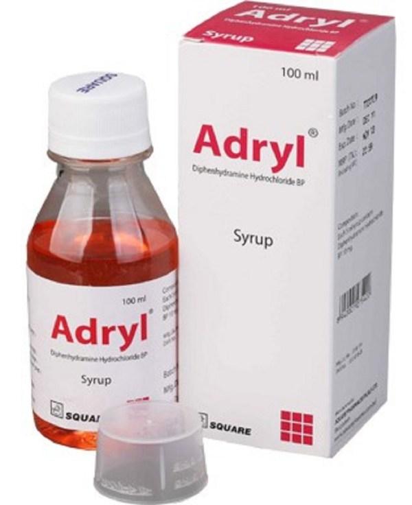 AdrylSyrup 10 mg 5 ml - 100 ml (Square Pharmaceuticals Ltd)