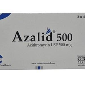 Azalid-500 mg Tablet