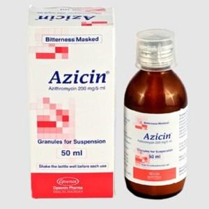 Azicin-50 ml Powder for Suspension(Opsonin)