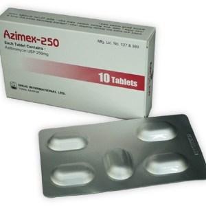Azimex Tablet 250 mg (Drug International Ltd)