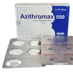 Azithromax 500 mg Tablet (Ziska Pharmaceuticals Ltd)
