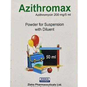 Azithromax Powder for Suspension 50 ml (Ziska Pharmaceuticals Ltd)