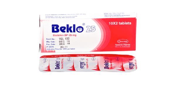 Beklo-25mg-Opsonin Pharma Ltd