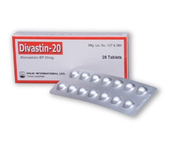 Divastin-20-Drug International Ltd