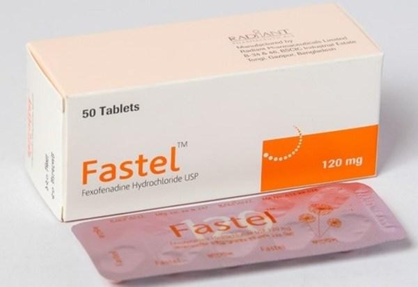 Fastel 120 mg Tablet (Radiant Pharmaceuticals Ltd)