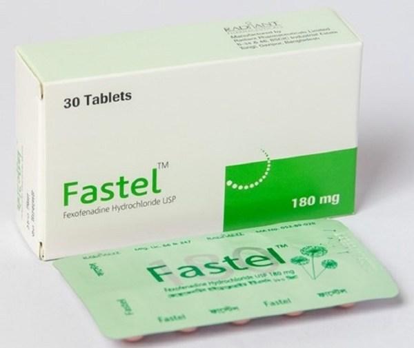 Fastel 180 mg Tablet (Radiant Pharmaceuticals Ltd)
