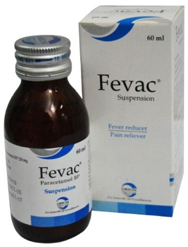 Fevac Oral Suspension 60 ml bottle(Orion Pharma Ltd)