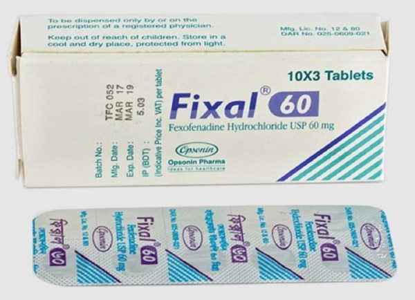 Fixal 60 mg Tablet (Opsonin Pharma Ltd)