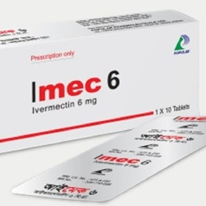 Imec 6 mg Tablet (Popular Pharmaceuticals Ltd)