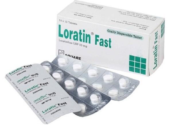 Loratin Fast10 mg Tablet (Square Pharmaceuticals Ltd)