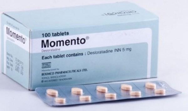 Momento Tablet 5mg (Beximco Pharmaceuticals Ltd)