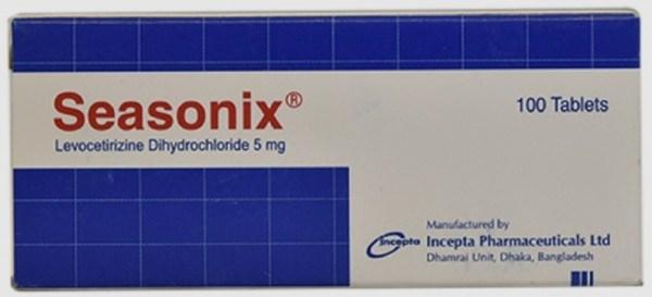 Seasonix5mg Tablet (Incepta Pharmaceuticals Ltd)