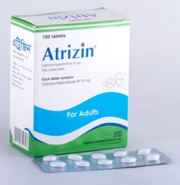 atrizin 10mg Tablet (Beximco Pharmaceuticals Ltd)