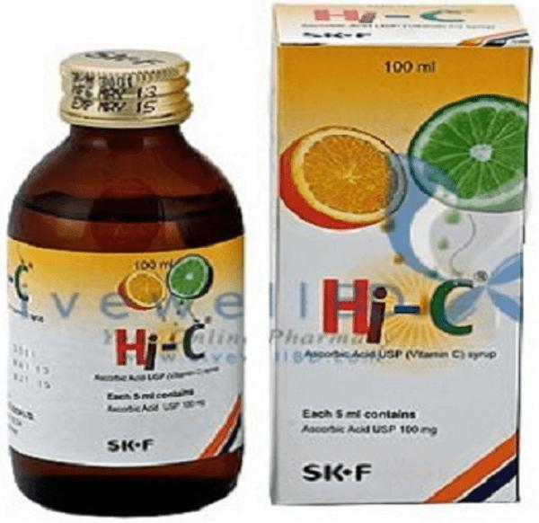 Hi-C- 100 ML Chewable Syrup Sk f