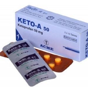 Keto-A-Tablet 50 mg(ACME Laboratories Ltd)