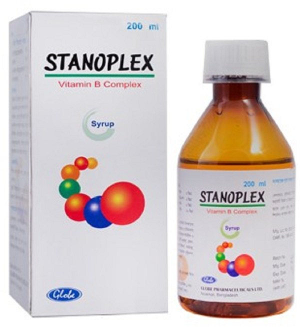 Stanoplexsyrup 200 ml (Globe Pharmaceuticals Ltd)