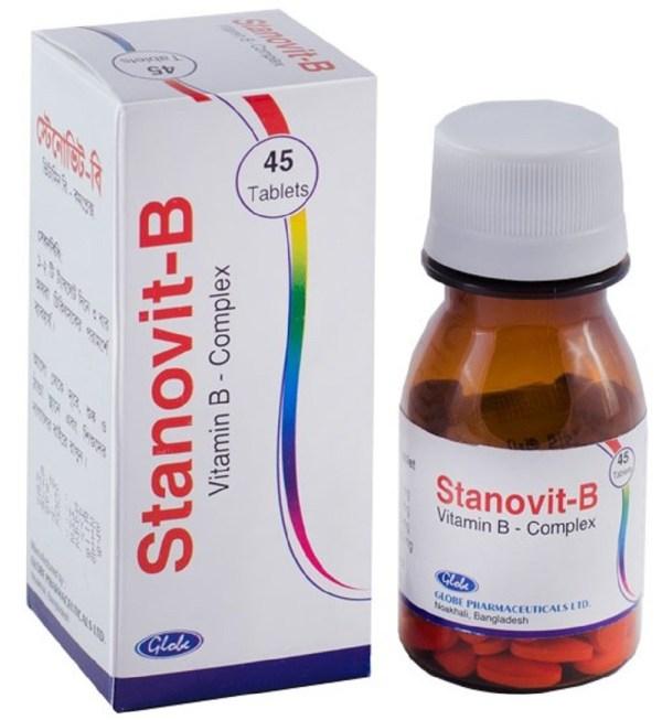 Stanovit-B Tablet (Globe Pharmaceuticals Ltd)