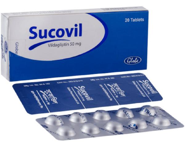 Sucovil 50 mg Tablet (Globe Pharmaceuticals Ltd)