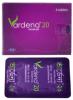 Vardena20 mg Tablet (Globe Pharmaceuticals Ltd)