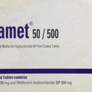 Vigamet 50+500 mg Tablet (Eskayef Bangladesh Ltd)