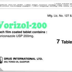 Vorizol- 200 mg Tablet Drug international ltd