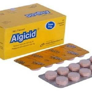 Algicid- 500 mg+100 mg Chewable Tablet( Incepta )