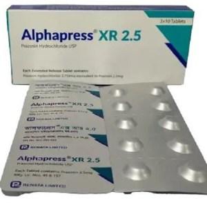 AlphapressXR - 2.5 mg Tablet ( Renata )
