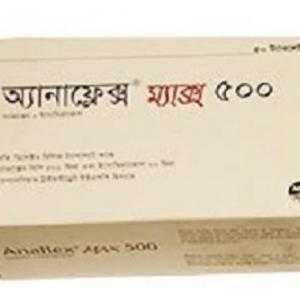 Anaflex Max- Tablet 500 mg+20 mg aci limited