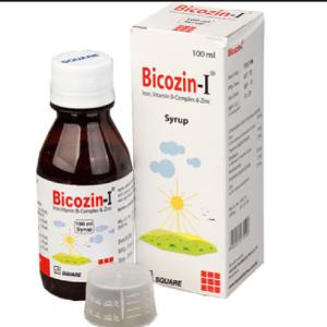 Bicozin-I Syrup Iron Square Pharmaceuticals Ltd.