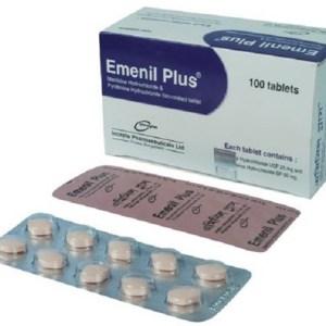 Emenil Plus - Tablet 25 mg+50 mg(Incepta Pharmaceuticals Ltd.)